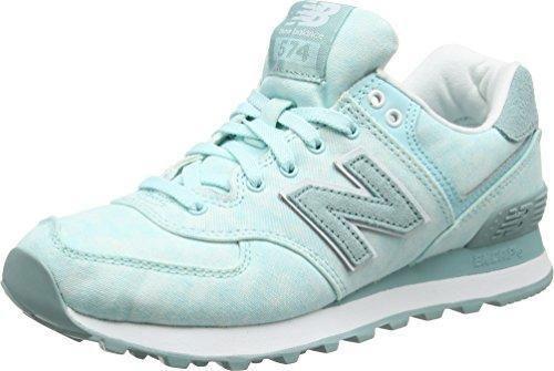 Oferta: 65.66€. Comprar Ofertas de New Balance WL574SWB B - Zapatillas para mujer, Azul (Turquoise), 38 EU barato. ¡Mira las ofertas!