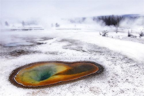 The Eye of Yellowstone.