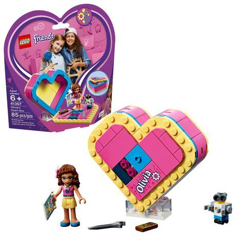 Lego Friends Olivia S Heart Box 41357 Building Kit (85 Piece) – Products