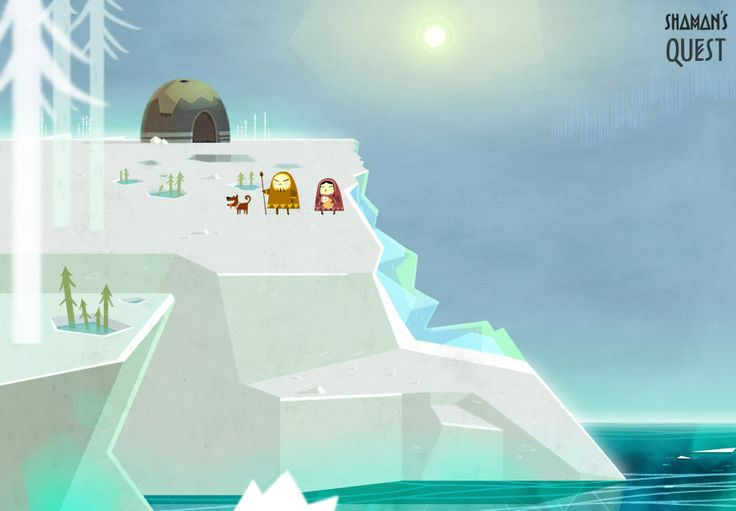 Shaman's Quest #animation #background