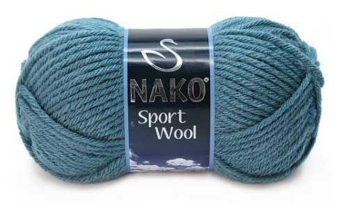 włóczka Nako Sport Wool 185 Storm