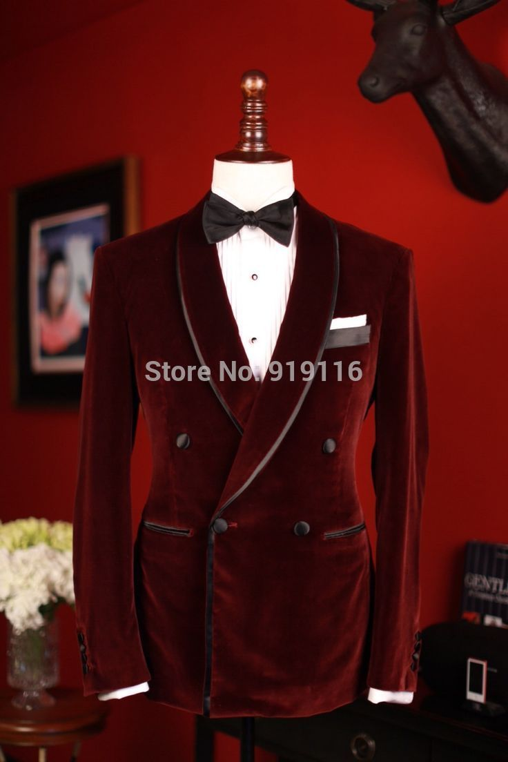 Find More Tuxedos Information about Double Breasted Velvet Burgundy Shawl Lapel Tuxedo/wedding Suit for men /Groom wear tuxedo 3 peices set (jacket+Pant+bowtie),High Quality suit cotton,China wedding men suit Suppliers, Cheap wedding suits sale from Bespoke Tuxedo-Suzhou Itilor Wedding Ltd on Aliexpress.com
