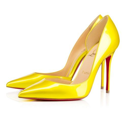 Souliers Femme - Iriza  Metal Vernis - Christian Louboutin