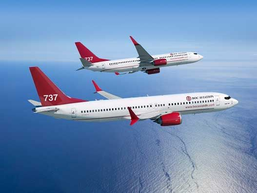 BOC Aviation places six Boeing 737-800 aircraft with China Airlines