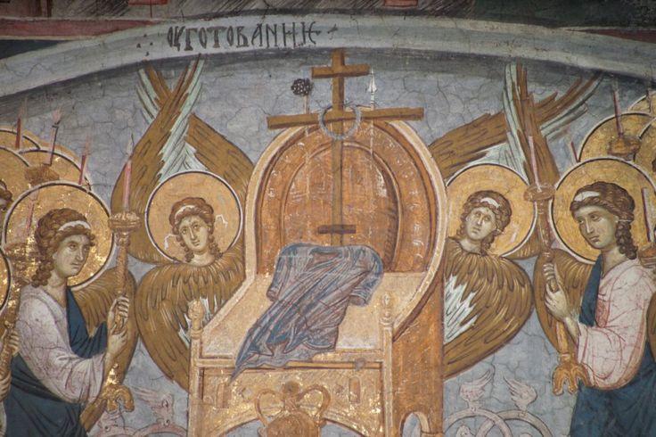 Throne of Preparation, 14th Century, Decani Monastery, Serbia