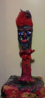 recycled figurine..