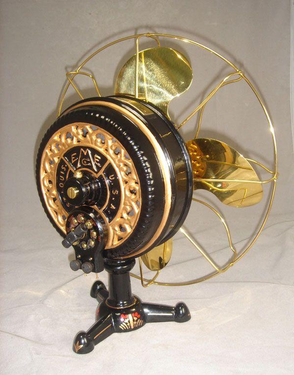 Old Electric Fans : Emerson tripod fan antique electric fans