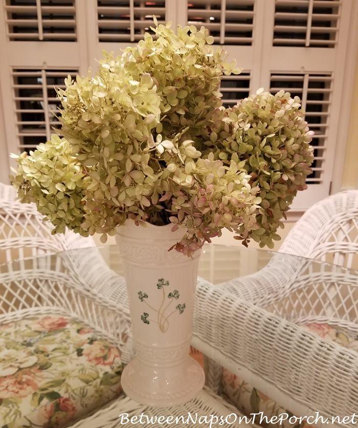 Belleek Pottery Shamrock Vase | Between Naps on the Porch