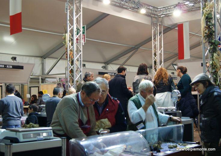 Alba International White Truffle Fair/Fiera Internazionale del Tartufo Bianco d'Alba, Alba, Piedmont, Italy