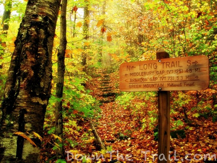 Hiking The Long Trail – Vermont – Down The Trail
