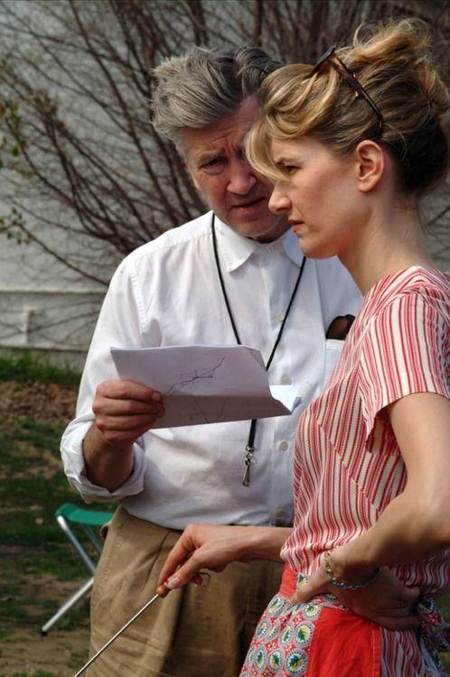 David Lynch with Laura Dern - Inland Empire