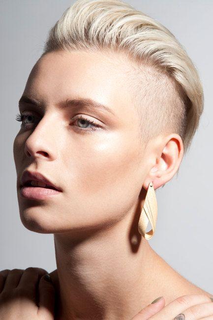 small fan earrings by ezekielhandmade on Etsy, ₪230.00