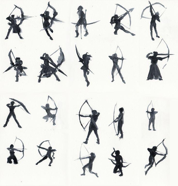 Archers by Dreki-K on deviantART