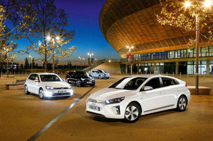 Four Way EV Shootout - Hyundai Ioniq Forum