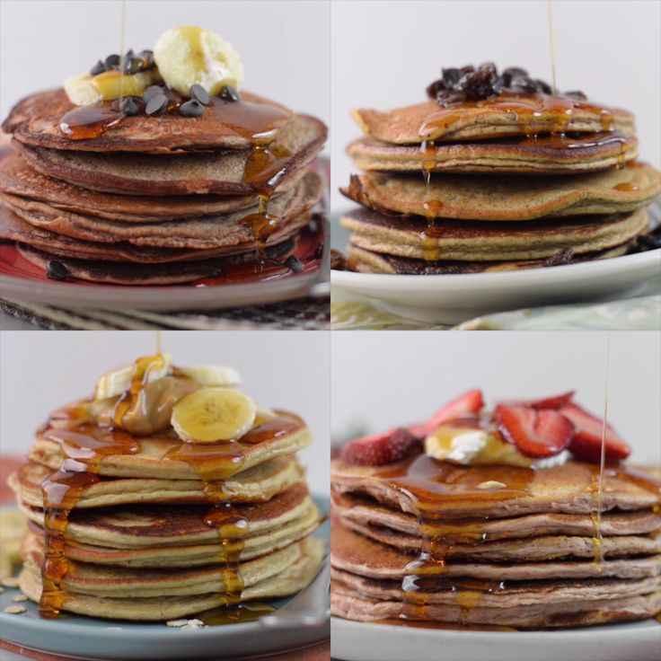 From triple chocolate flapjacks to sweet and fruity pancakes, these protein-packed breakfasts are not only tasty, but healthy too.