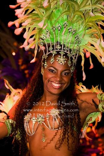Carnivale dancers in Rio de Janiero. Brazil