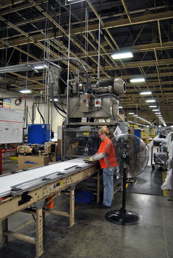 Clopay Garage Doors Factory Tour & 19 best Factory Tour: See How a Clopay Garage Door is Made images on ...