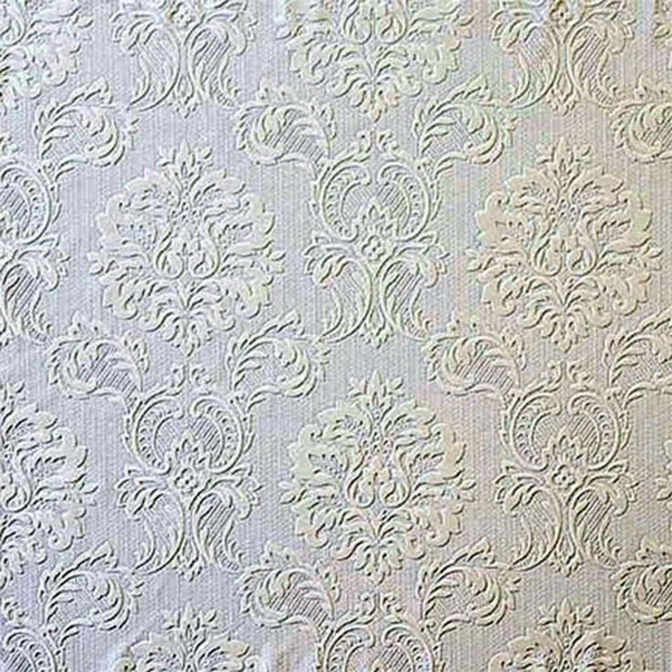 Paintable Wallpaper Formal Damask Heavy Textured 14832808