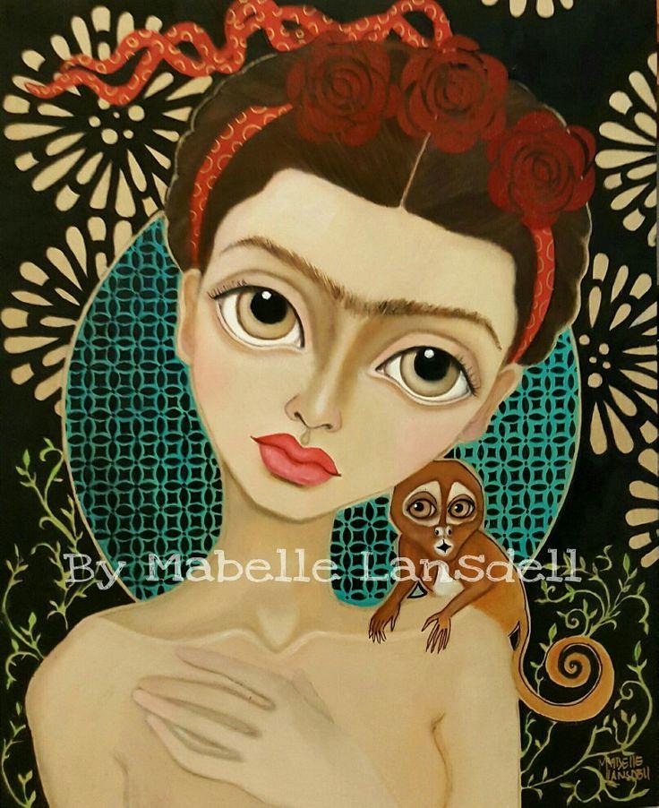 Frida Íntima by artist Mabelle Lansdell