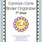 This packet is intended to help with organizing your lessons, printables, assessments, etc. into a 3 ring binder.  What's included: Cover Sheet: Ca...