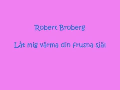 """Walter´s Vinyl: """"Låt mig värma din frusna själ"""", Robert Broberg - VINYL ..."""