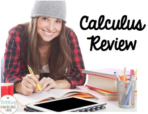 Teaching High School Math: It's That Time Again - Plan for Fun AP Calculus Review