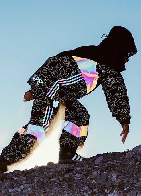 pretty nice 7de28 5532f Bape x Adidas Snowboarding To Drop New Reflective Collection ...