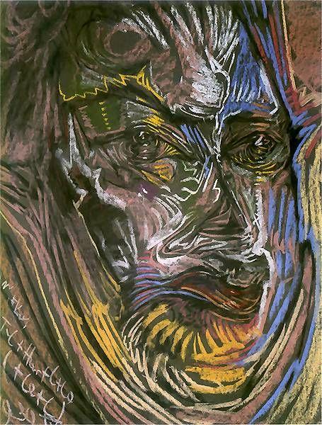 Portrait of Michal Choromanski 1930 Stanislaw Ignacy Witkiewicz aka Witkacy