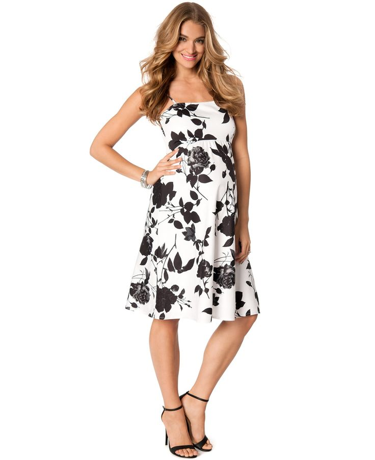Jessica Simpson Maternity Floral-Print A-Line Dress - Shop All Maternity - Women - Macy's