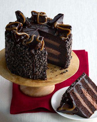 Chocolate bavarian mousse cake recipe
