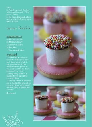 Amazingly simple tea cup biscuits!
