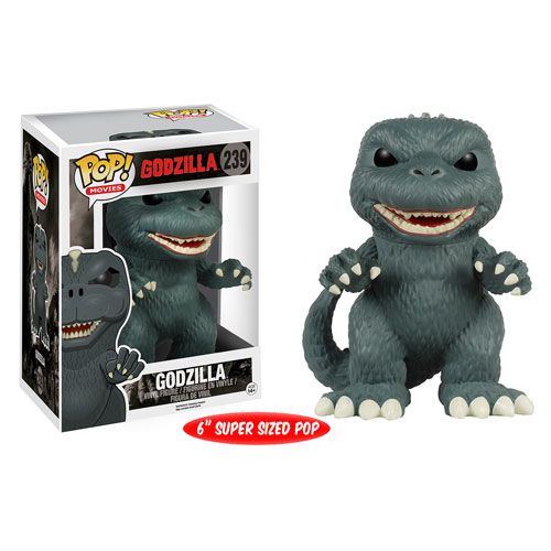 Godzilla 6-Inch Pop! Vinyl Figure - Funko - Godzilla - Pop! Vinyl Figures at Entertainment Earth