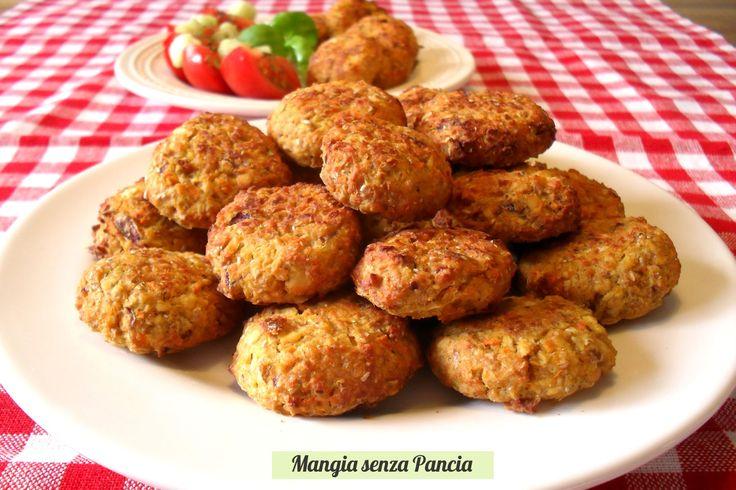 Polpettine vegetariane al forno senza uova, Mangia senza Pancia