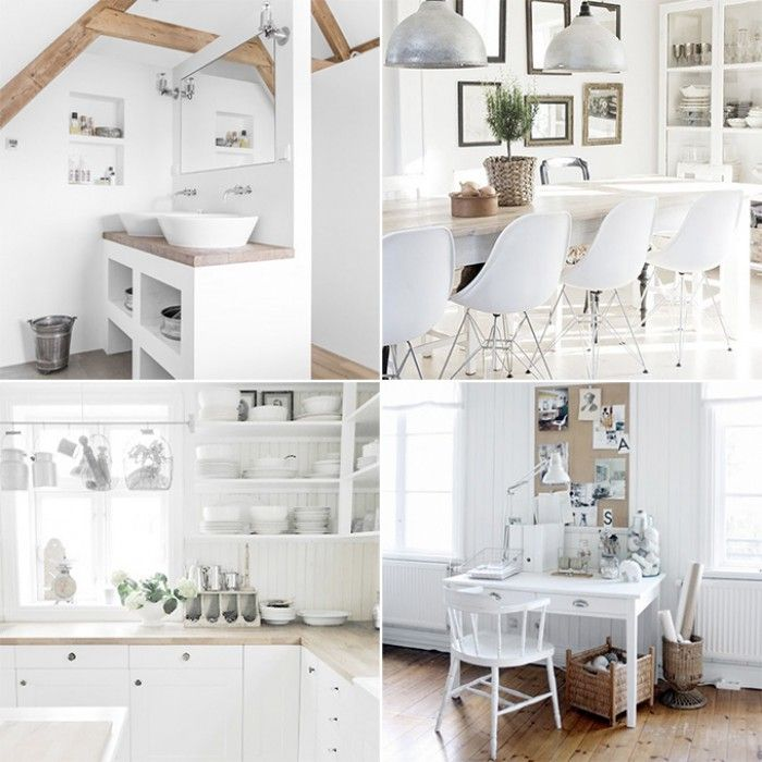 25 beste idee n over wit kamer interieur op pinterest idee n voor een kamer witte kamers en - Witte en blauwe kamer ...