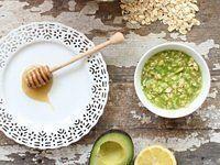 # Skincare Recipes - Avocado Mask Recipe - Racked SF #CharcoalMaskHomemade - Diy ...  -  Hautpflege-Rezepte