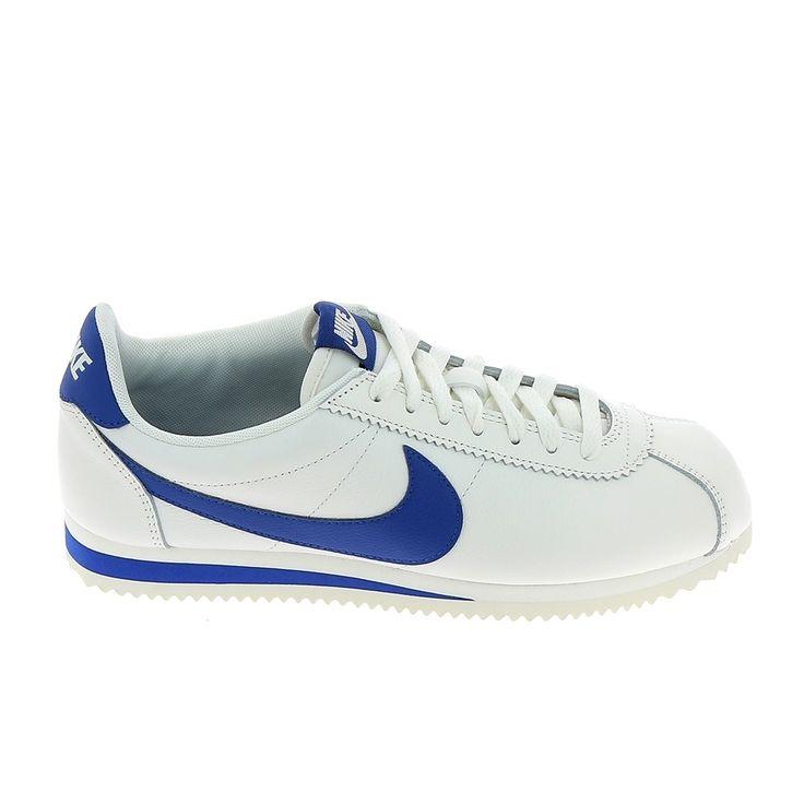 Chaussures De Sport Lage En Cuir Classique Avec Nike Cortez qO1dJ43