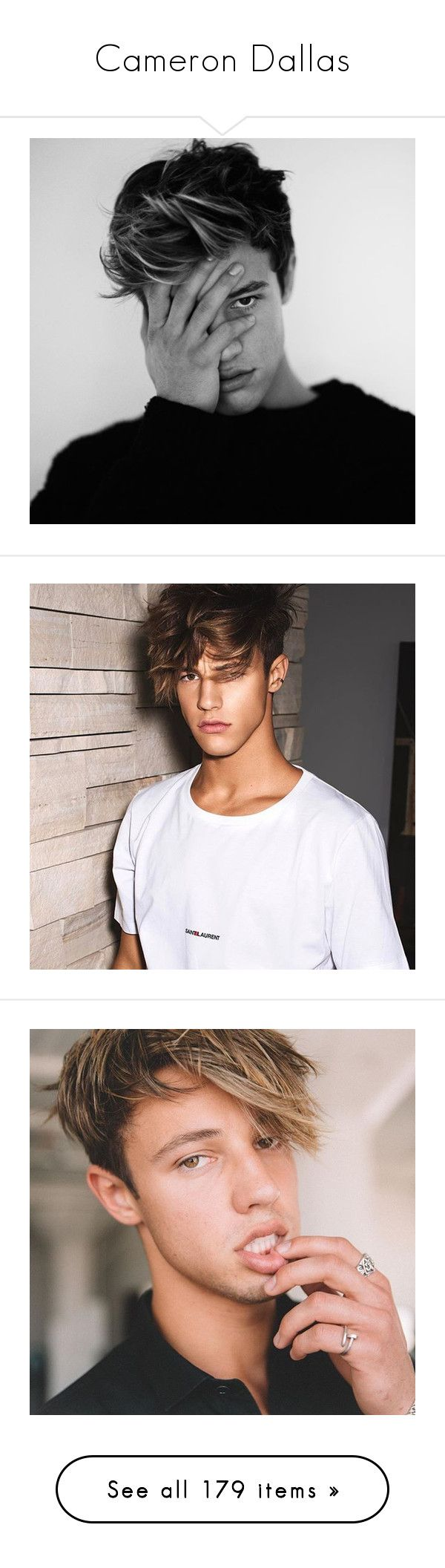 """Cameron Dallas"" by beingmyselfaf ❤ liked on Polyvore featuring CameronDallas, magcon, magconboys, cameron dallas, jewelry, watches, star jewelry, cameron, ppl and boys"