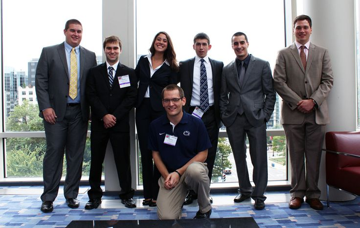 Members of the National Electrical Contractors Association (NECA) Penn State student chapter traveled to Washington D.C. in October 2013 to ...