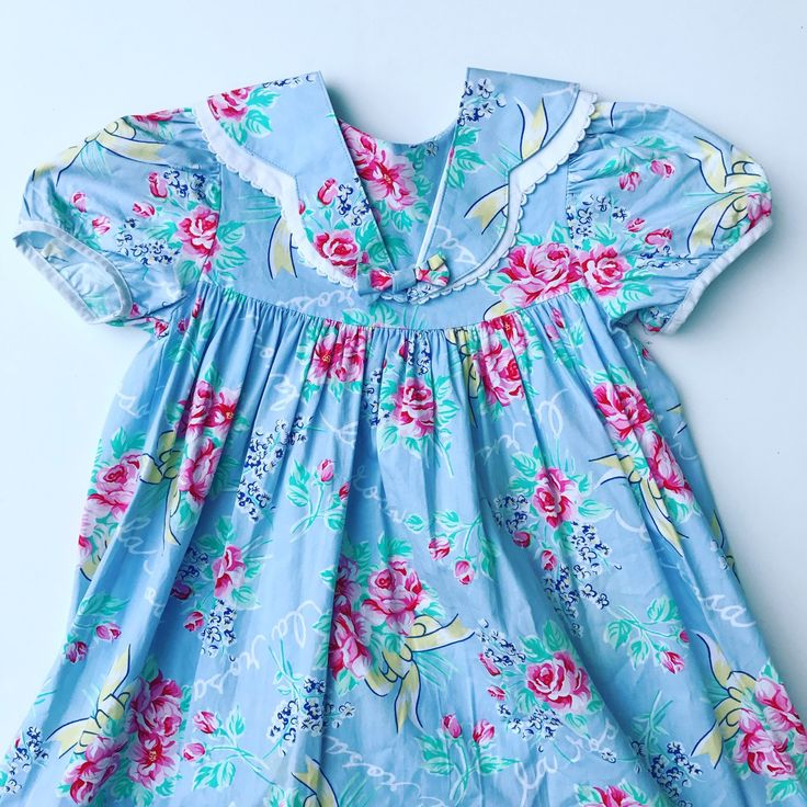 Just posted this perfect #easter #spring #vintage #dress for your #toddler oh and Free Shipping