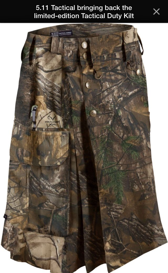 5.11 Tactical - TACTICAL DUTY KILT in REALTREE   TAC on ...