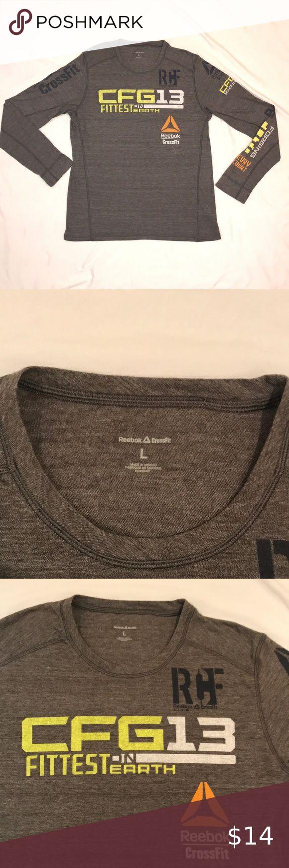 Reebok Crossfit Games Performance Tshirt in 2020 Reebok