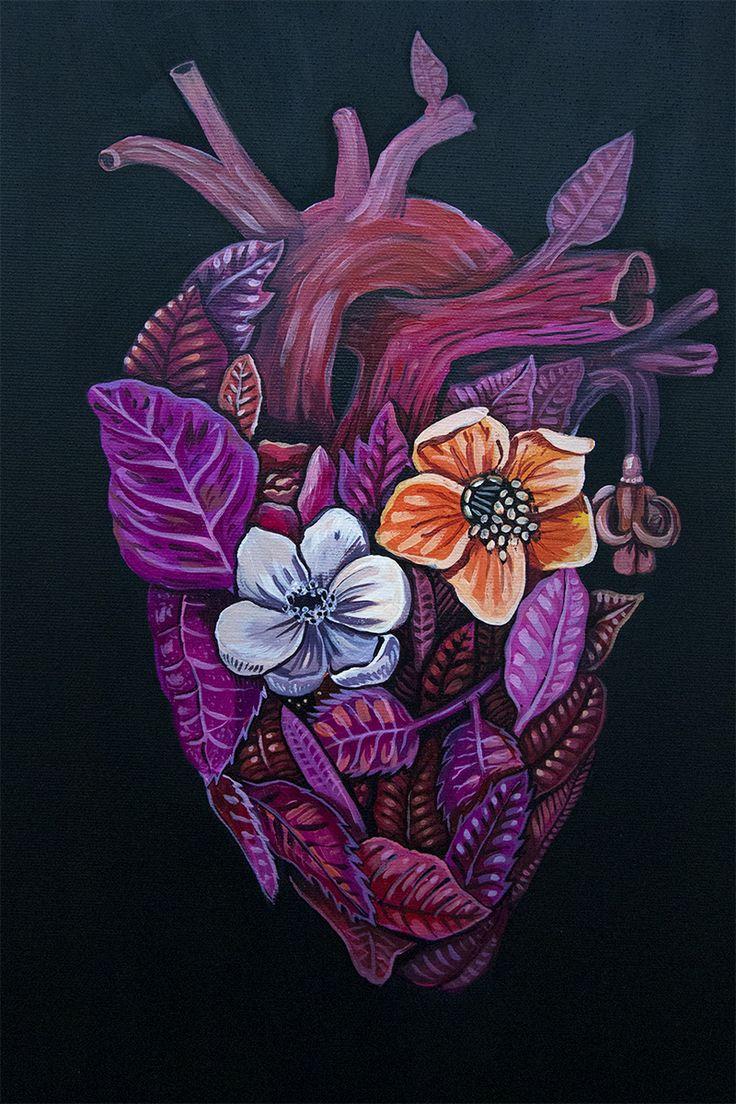 Mi corazón florece por tí: Te veo y me pongo nervioso, me equivoco hablando y sonrió (como los tontos enamorados)