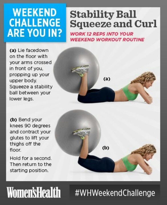 Stability Ball Glute: 1000+ Images About Hamstring Exercises On Pinterest