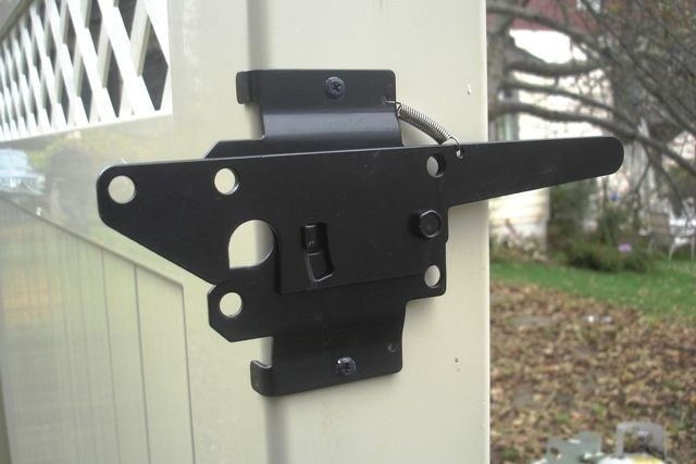 Vinyl Fence Gate Latch In 2019 Gate Handles Gate Latch