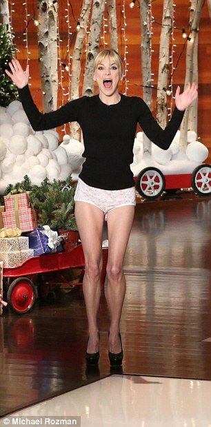 Anna Faris Dances Around In Her Underpants After Losing