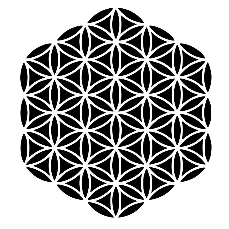 Flower of Life Sacred Geometry Die-Cut Decal Car Window Wall Bumper Phone Laptop