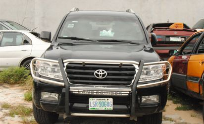 Customs impounds 13 bullet proof cars 5 others in Abuja