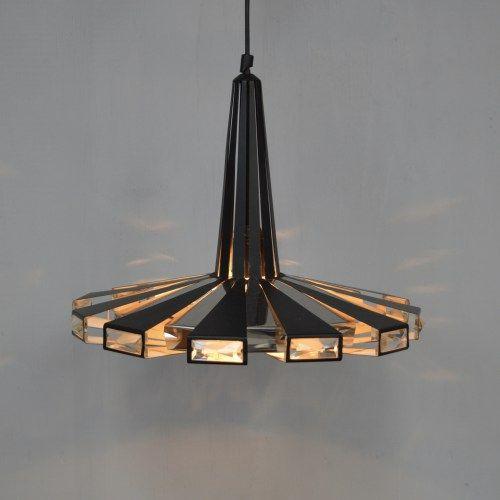 Werner Schou for Coronell Elektro Denmark Pendant Lamp 1960's Vintage Retro Midcentury Design