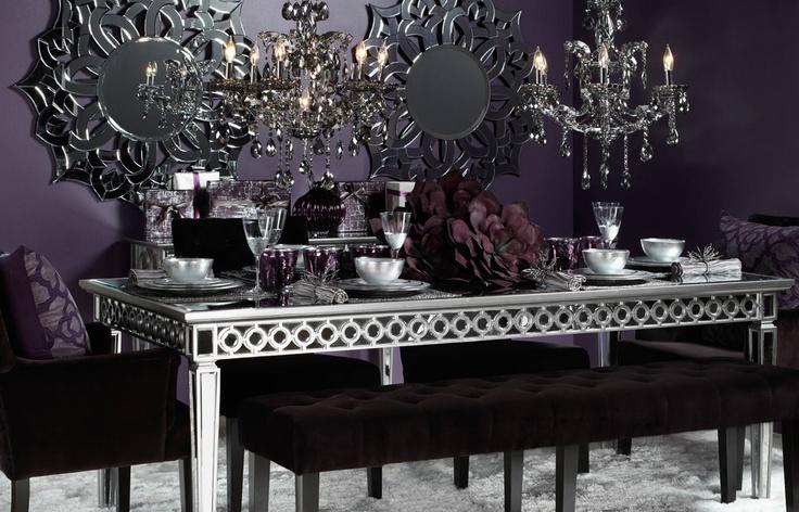 116 Best Images About Aubergine Purple Decor On Pinterest