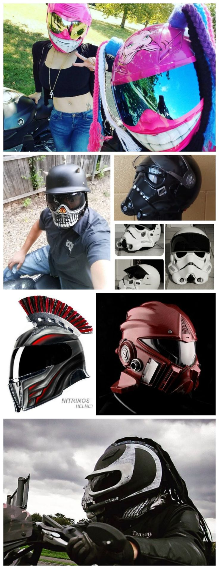 Creative Motorcycle Helmets Collection 3
